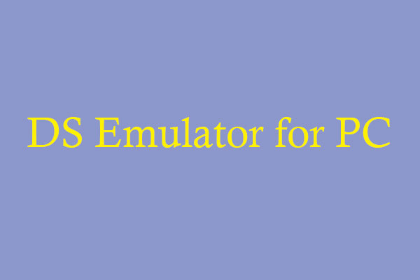 ds emulator for pc thumbnail