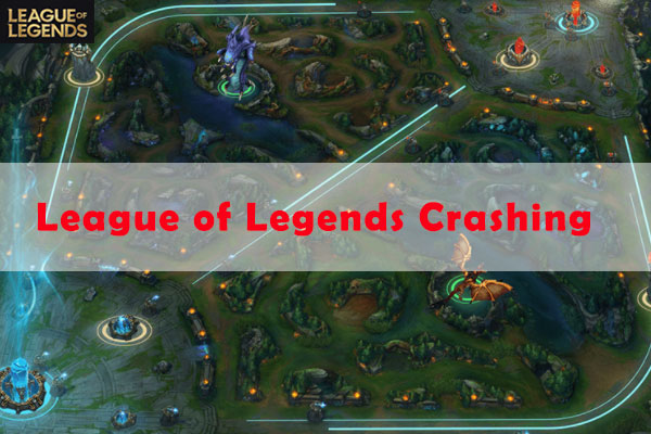 league of legends crashing thumbnail