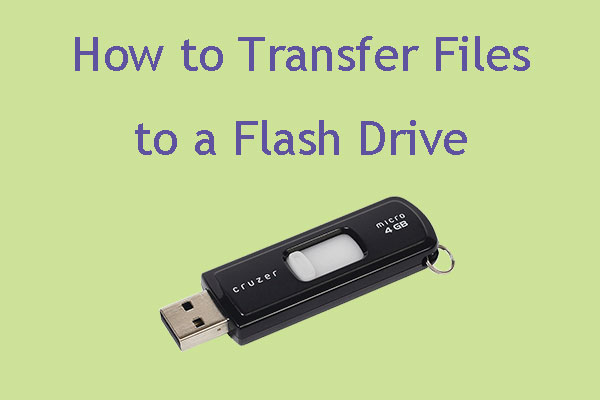 transfer files to flash drive thumbnail