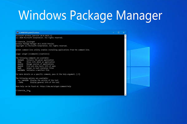 windows package manager thumbnail