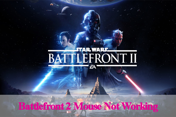 Battlefront 2 mouse not working