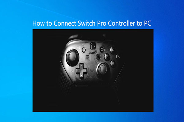 how to connect switch pro controller to pc thumbnail