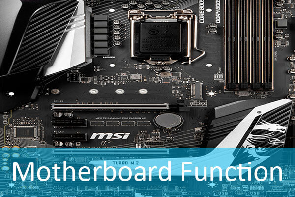 motherboard function