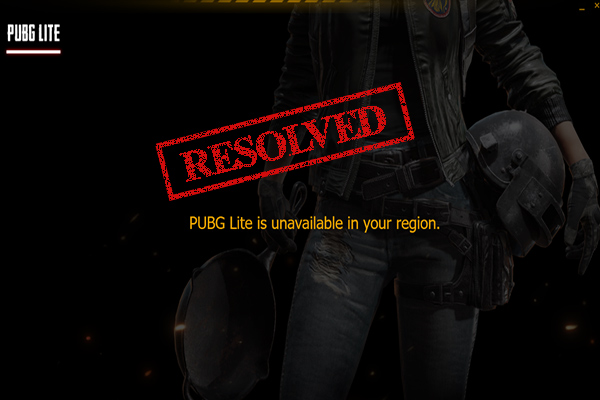 pubg lite is unavailable in your region thumbnail