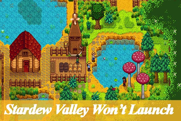 stardew valley wont launch thumbnail