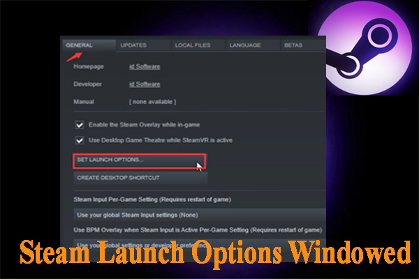 steam launch options windowed thumbnail