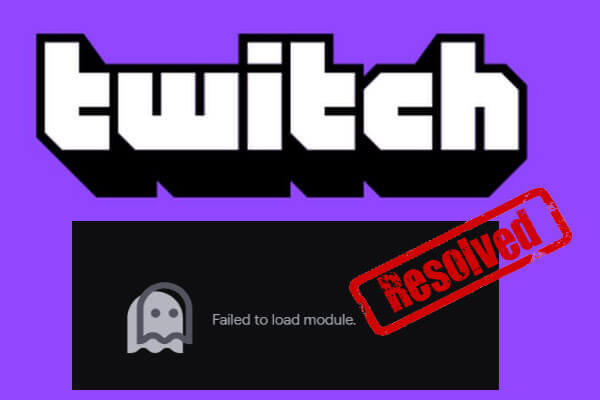 twitch failed to load module thumbnail