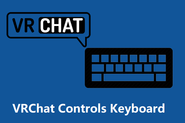 vrchat controls keyboard