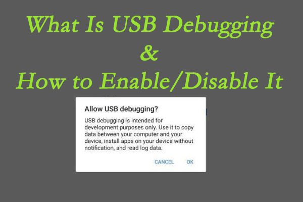 what is USB debugging