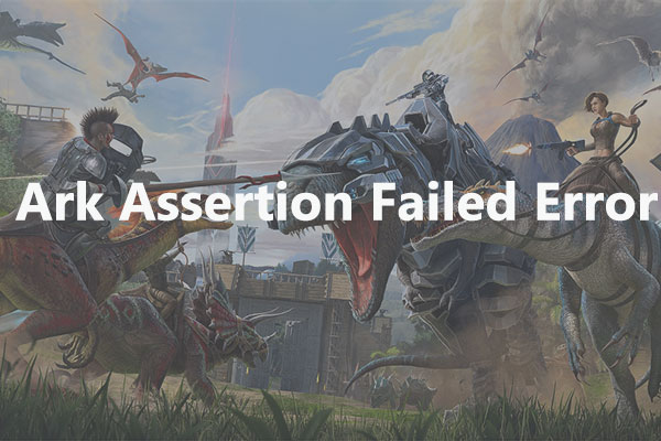 Ark assertion failed