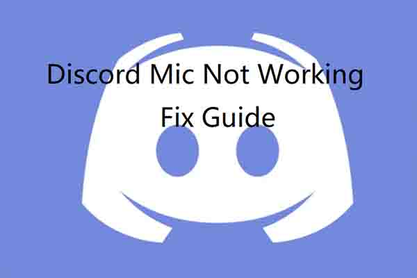 discord not detecting mic thumbnail