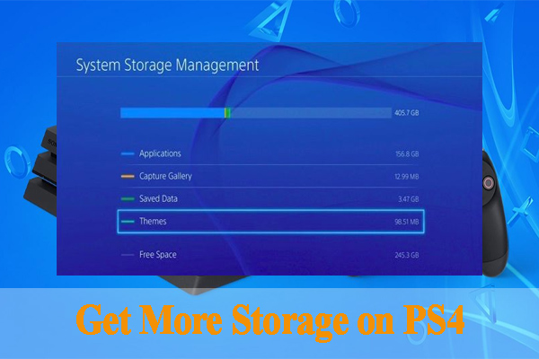 how to get more storage on ps4 thumbnail