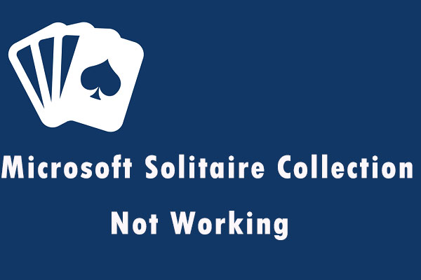 microsoft solitaire collection not working thumbnail