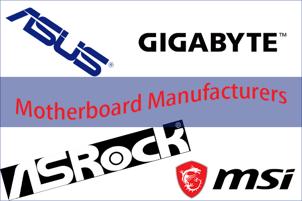 motherboard manufacturers thumbnail