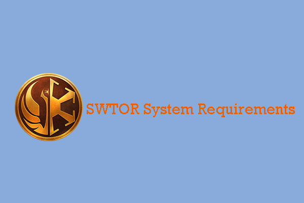 SWTOR system requirements