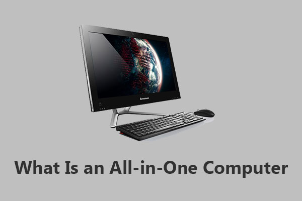 what is an all in one computer