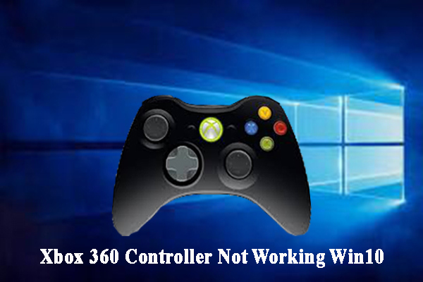 Xbox 360 controller not working on PC