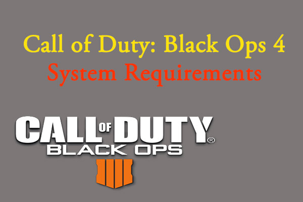 black ops 4 system requirements thumbnail