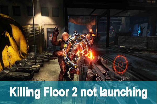 Resolved Killing Floor 2 Not Launching