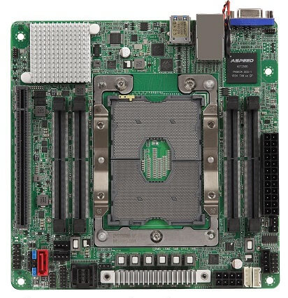 AsRock Rack EPC621D4I-2M Mini-ITX Server Motherboard