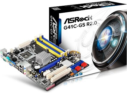 ASRock G41C-GS Micro ATX Motherboard