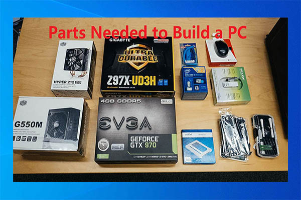 parts needed to build a PC