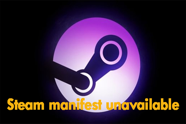 Steam manifest unavailable