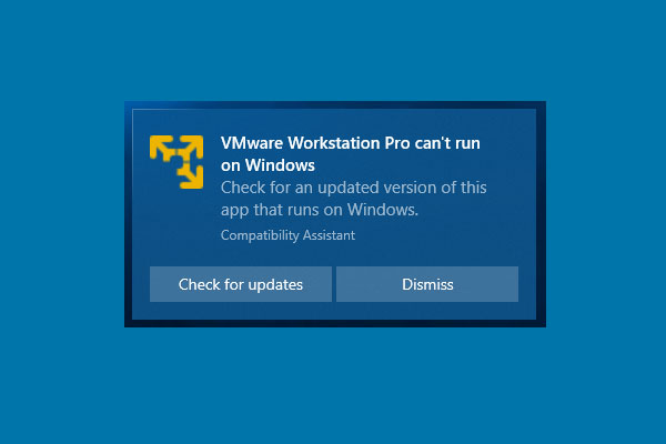 vmware workstation pro cant run on windows thumbnail