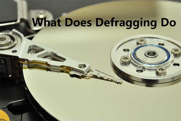 what does defragging do