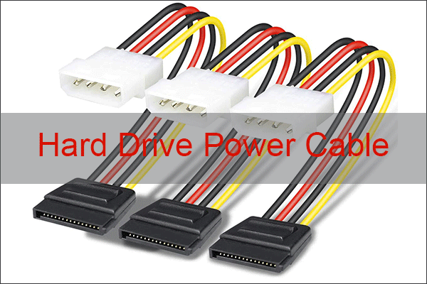 hard drive power cable