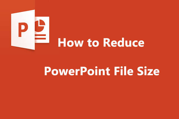 reduce powerpoint file size thumbnail