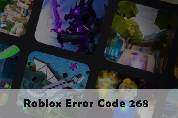 Roblox error code 268