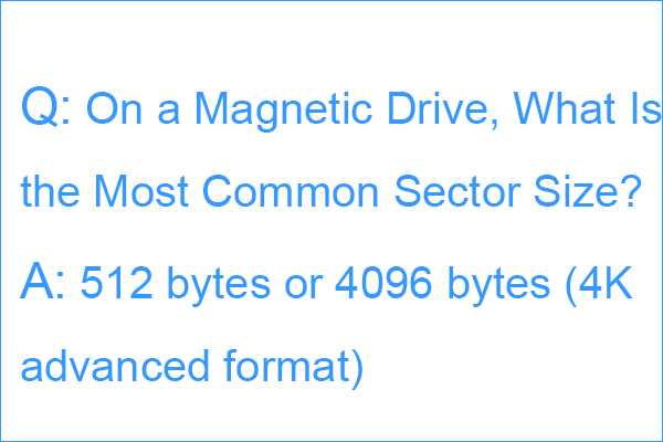 on a magnetic drive