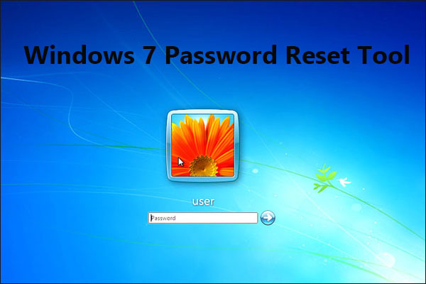 Windows 7 password reset tool