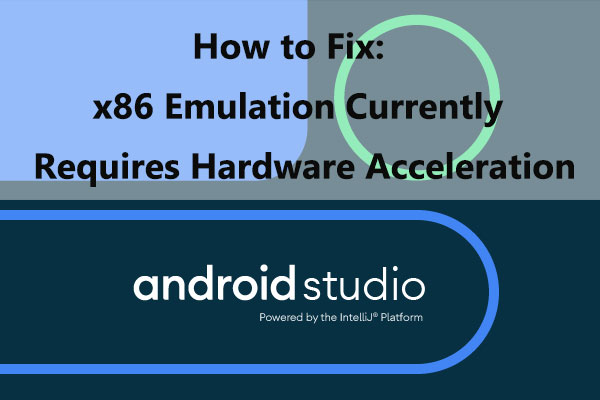 error: x86 emulation currently requires hardware acceleration