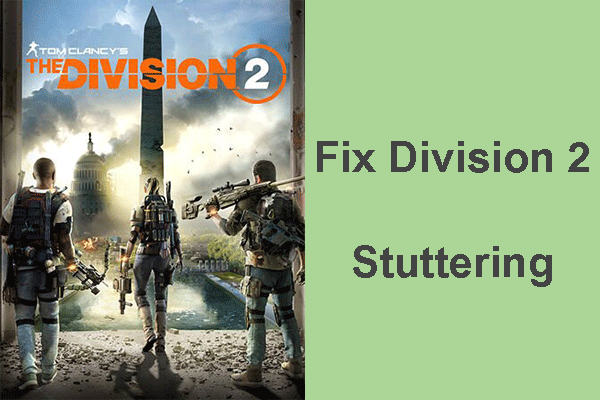 Division 2 stuttering