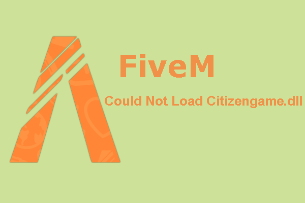 fivem could not load citizengame dll thumbnail