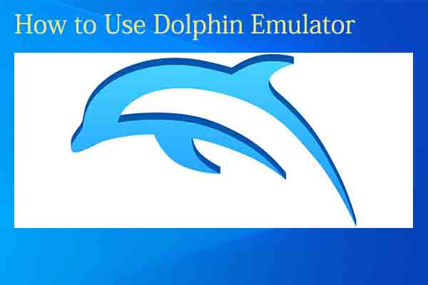 how to use Dolphin emulator