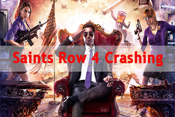 Saints Row 4 crashing