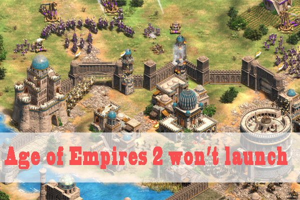 age of empires 2 wont launch thumbnail