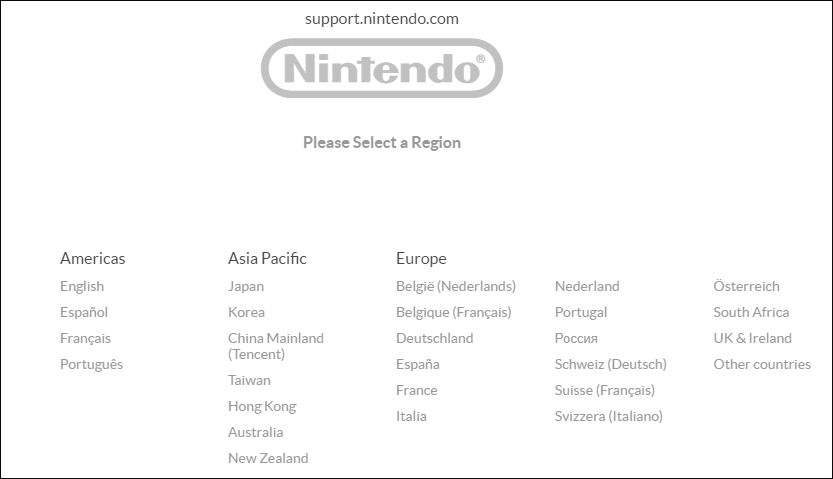 verify the status of Nintendo servers