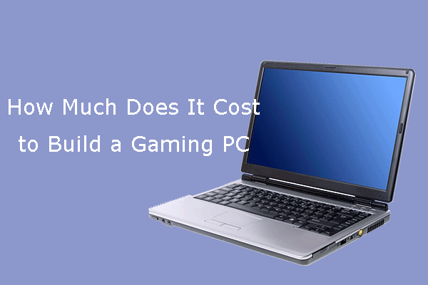 how much does it cost to build a gaming PC