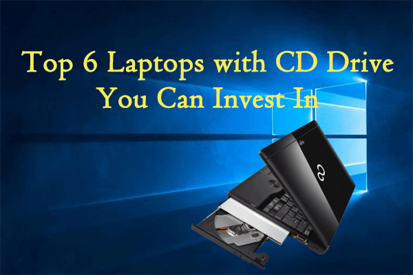 laptop with CD drive