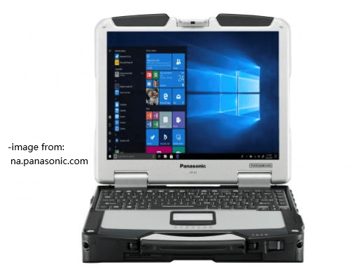 Panasonic Toughbook 31 laptop