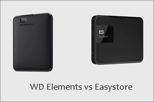 WD Elements vs Easystore