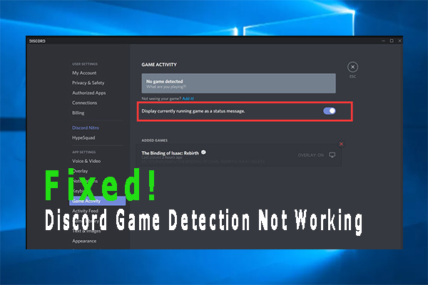 discord game detection not working thumbnail