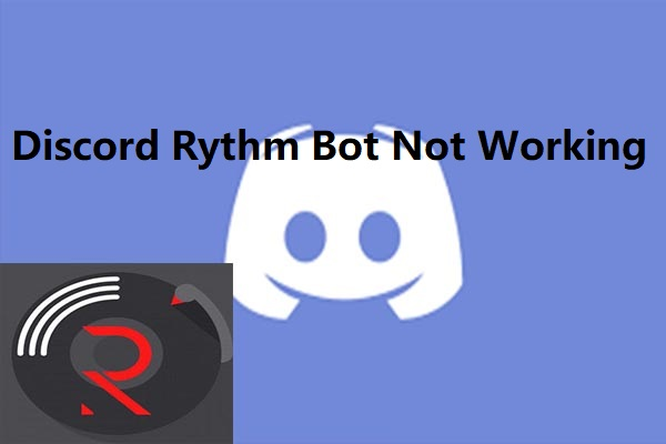 discord rythm bot not working thumbnail
