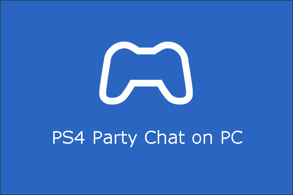 ps4 party chat on pc thumbnail