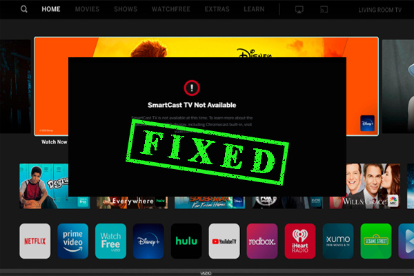 smartcast tv not available thumbnail