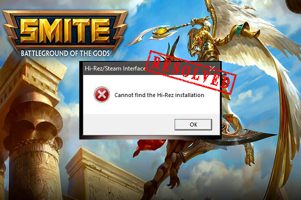 Smite unable to connect to Steam